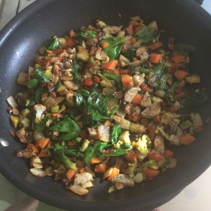 Lucious Veggie Mixture